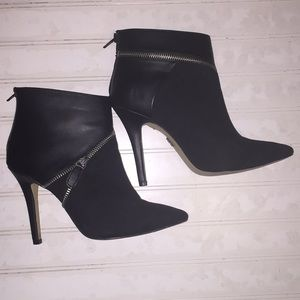 Rock & Republic faux suede heeled ankle boots